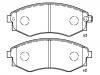 Pastillas de freno Brake Pad Set:58101-28A00